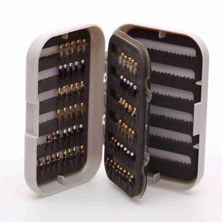 Fly box with swingleaf CB6400A - for 400 flies