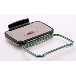 Double side clear fly fishing box NDS6168D for 168 flies