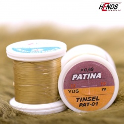 PATINA TINSEL - LT. GOLD