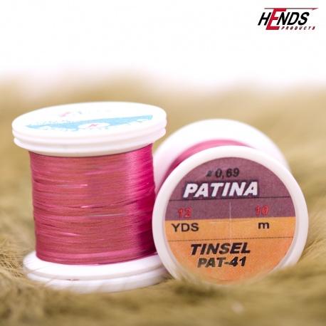 PATINA TINSEL - STARORŮŽOVÁ