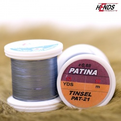 PATINA TINSEL - GUNMETALL