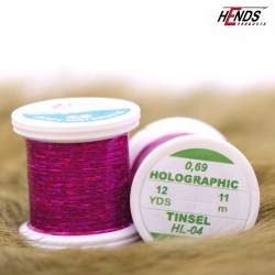 HOLOGRAPHIC TINSEL - PINK VIOLET