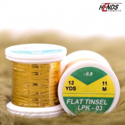 FLAT TINSEL - GOLD DK.
