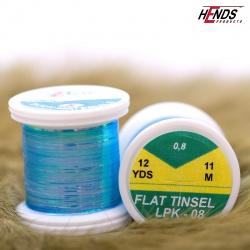 FLAT TINSEL - BLUE PEARL