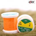 FLAT TINSEL - FLUO ORANGE PEARL