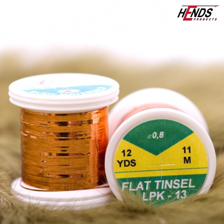 FLAT TINSEL - COPPER