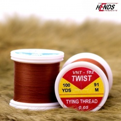 TWIST - 0,05 - RUSTY BROWN