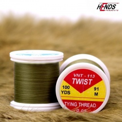 TWIST - 0,05 - OLIVOVĚ HNĚDÁ TMAVÁ