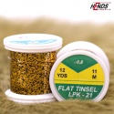 FLAT TINSEL - GOLD GRIZZLY