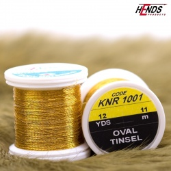 OVAL TINSEL - GOLD DK.