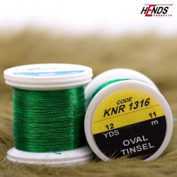 OVAL TINSEL - GREEN