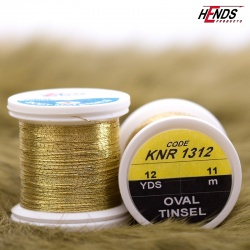 OVAL TINSEL - GOLD LT.