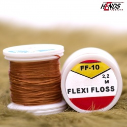 FLEXI FLOSS - HNĚDÁ