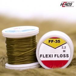 FLEXI FLOSS - TM. OLIVOVĚ HNĚDÁ