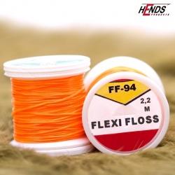FLEXI FLOSS - ORANŽOVÁ FLUO