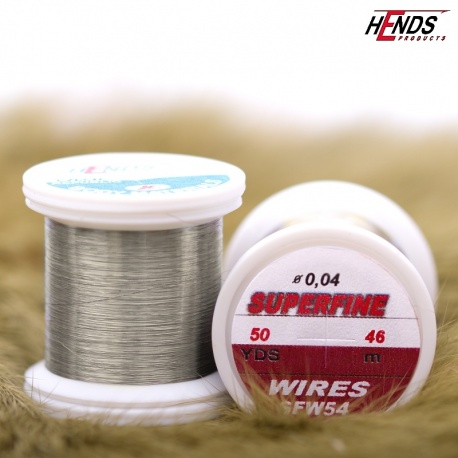 SUPERFINE WIRES 50 Yds - STEEL GRAY
