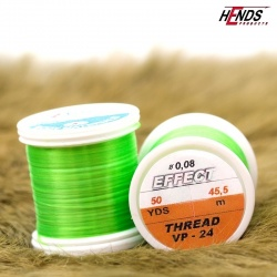 EFECT THREAD - FLUO ZELENÁ