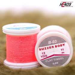 BUZZER BODY - RED FLUO