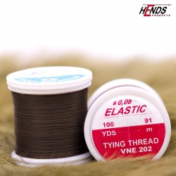ELASTIC 0,08 mm - DARK BROWN