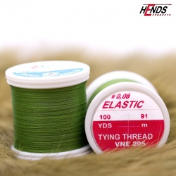 ELASTIC 0,08 mm - OLIVE GREEN