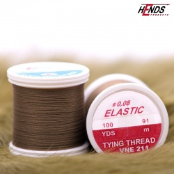 ELASTIC 0,08 mm - BROWN DARK