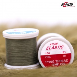 ELASTIC 0,08 mm - OLIVE GRAY