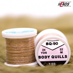 BODY QUILLS MULTICOLOR - BEIGE Tip/BROWN Body