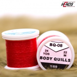 BODY QUILLS - BQ08 - ČERVENÁ