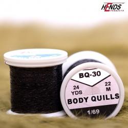 BODY QUILLS - BQ30 - ČERNÁ