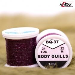 BODY QUILLS - CLARET