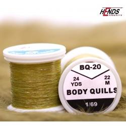 BODY QUILLS - GREEN
