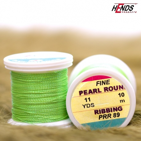 PEARL ROUND RIBBING - Pearl Chartreuse