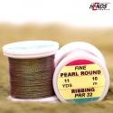 PEARL ROUND RIBBING - Pearl olivová tmavá