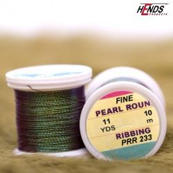PEARL ROUND RIBBING - Pearl hnědá