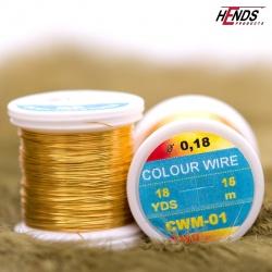 COLOUR WIRE - GOLD