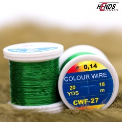 COLOUR WIRE - GREEN LT.