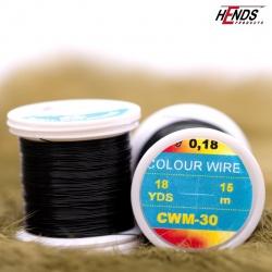 COLOUR WIRE - BLACK