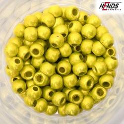 BEAD HEAD chartreuse anodiz./2,3 - 3,8/