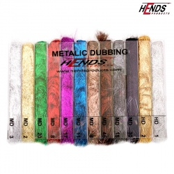METALIC DUBBING BOX - 12 COLOURS