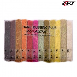 HARE DUBBING PLUS - BLENDED SPECTRA DUBBING BOX - 12 BAREV