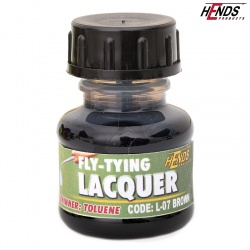 FLY TYING LACQUER - HNĚDÁ