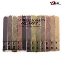 HAMSTER DUBBING BOX - 12 BAREV