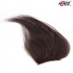 LONG HAIR - HNĚDO ČERNÁ PŘÍRODNÍ