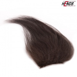 LONG HAIR - BROWN/ BLACK NATURAL