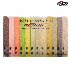 HARE DUBBING PLUS - BLENDED SPECTRA DUBBING BOX - 12 BAREV - SVĚTLÝ