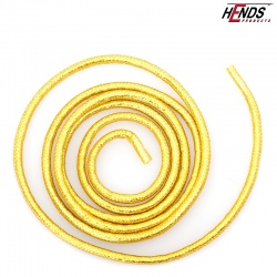 MYLAR TUBING TINSEL - YELLOW