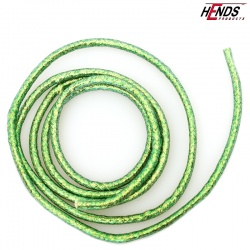 MYLAR TUBING - GREEN PEARLESCENT