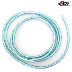 MYLAR TUBING - BLUE PEARLESCENT