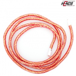 MYLAR TUBING - RED PEARLESCENT