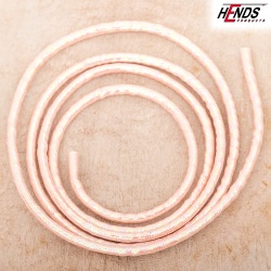 MYLAR TUBING - LT. PINK - UV ICE EFFECT